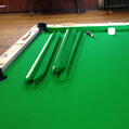 Pool Table recovering end process