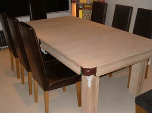 Crown Snooker D Dining Table