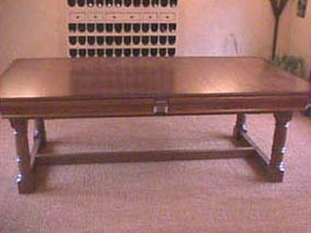 Refectory Snooker D Dining Table