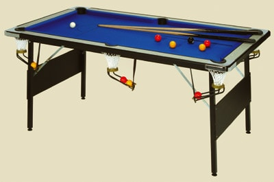 Deluxe Foldaway Pool Table